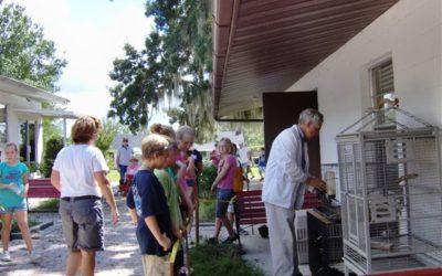 Lakeland Christian's Visit