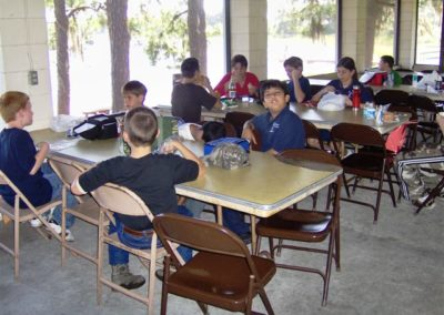 Lunch | Lighthouse Christian Learning Center Field Trip | Creation Critters | Lakeland